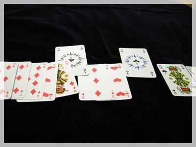 エースのカード取り出す