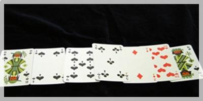 エースのカードなし