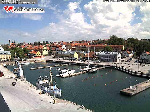Visby スウェーデン どこかの国のライブカメラ ライブカメラ 海外 旅行 写真