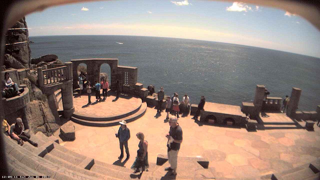 Minack Theatre イギリス どこかの国のライブカメラ ライブカメラ 海外 旅行 写真