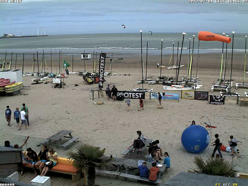 Knokke-Heist ベルギー どこかの国のライブカメラ ライブカメラ 海外 旅行 写真