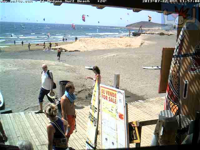 El Medano:Teneriffa スペイン どこかの国のライブカメラ ライブカメラ 海外 旅行 写真