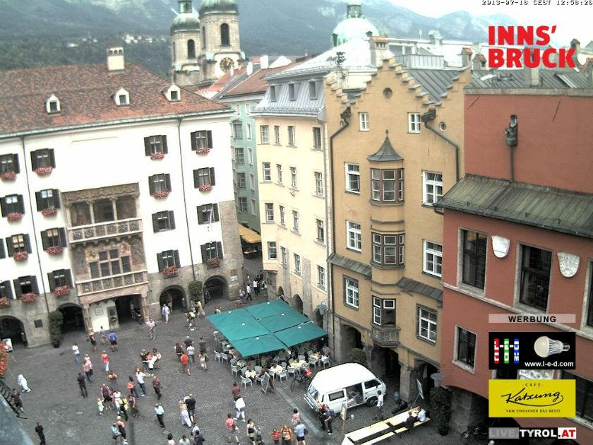 Innsbruckオーストリア どこかの国のライブカメラ ライブカメラ 海外 旅行 写真