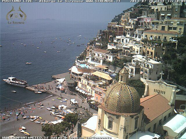 Positano イタリア どこかの国のライブカメラ ライブカメラ 海外 旅行 写真