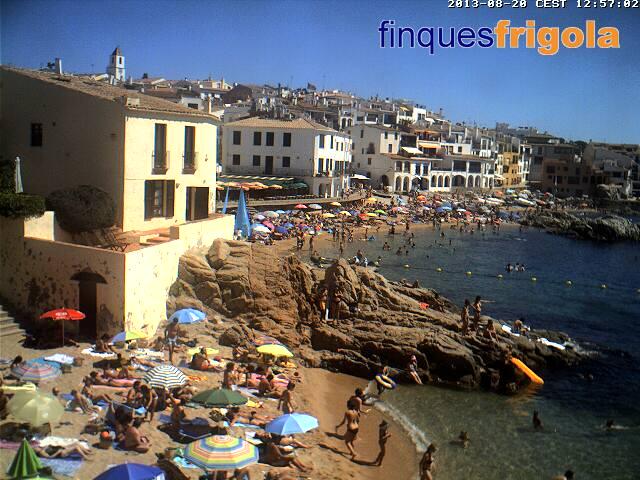 スペイン Calella de Palafrugell どこかの国のライブカメラ ライブカメラ 海外 旅行 写真