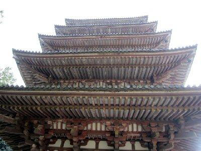 五重塔下から(醍醐寺).JPG