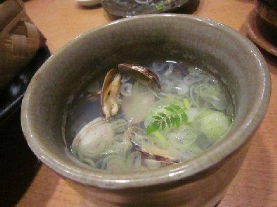 あさりの酒蒸し(万松).JPG