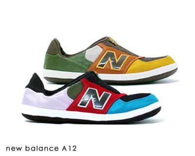 new balance A12. ニューバランス A12 BRP(ブルー レッド ピンク) BBG(ブラウン ビスケット グリーン) 450025fe47b7