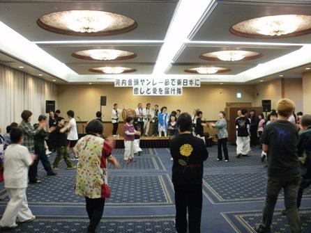 「東日本復興支援ライブin東北」 直前ライブ6