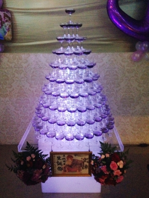 円錐タワー10段