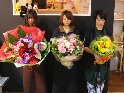 花束ブーケタイプ