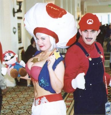 キノピオ&マリオ