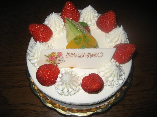 サンヴェールケーキ