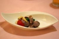 合鴨のロースサラダ仕立て