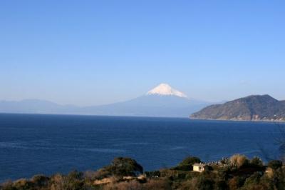 車窓から景色(富士山)
