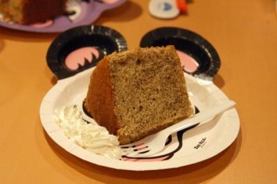 ちゅんりーさんお手製シフォンケーキ