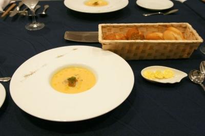 ディナー(スープ)