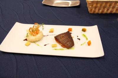 ディナー(魚料理)