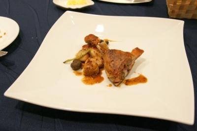 ディナー(肉料理)