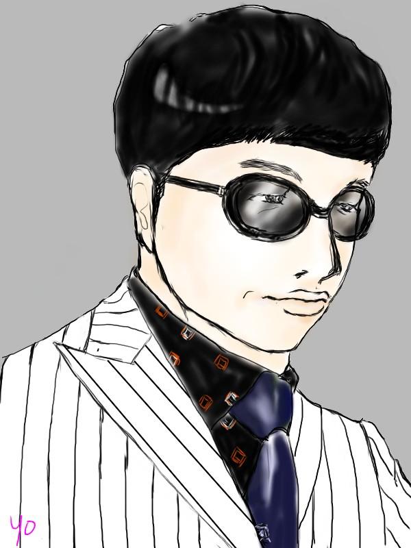 ウオォンカさんメガネ
