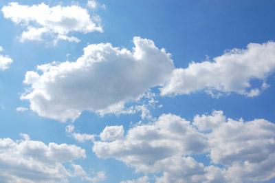 青空と雲 - 無料写真素材