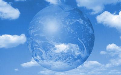 青空と地球/エコロジー