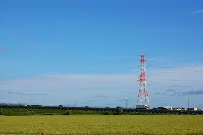 畑と道路 - 無料写真素材