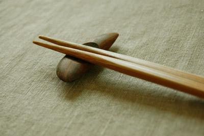 箸と箸置き - 無料写真素材