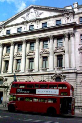 ロンドンの二階建てバス - 無料写真素材