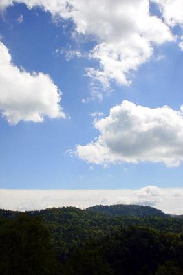 空と山脈 - 無料写真素材