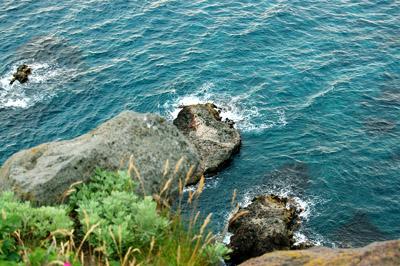 海岸の崖 - 無料写真素材