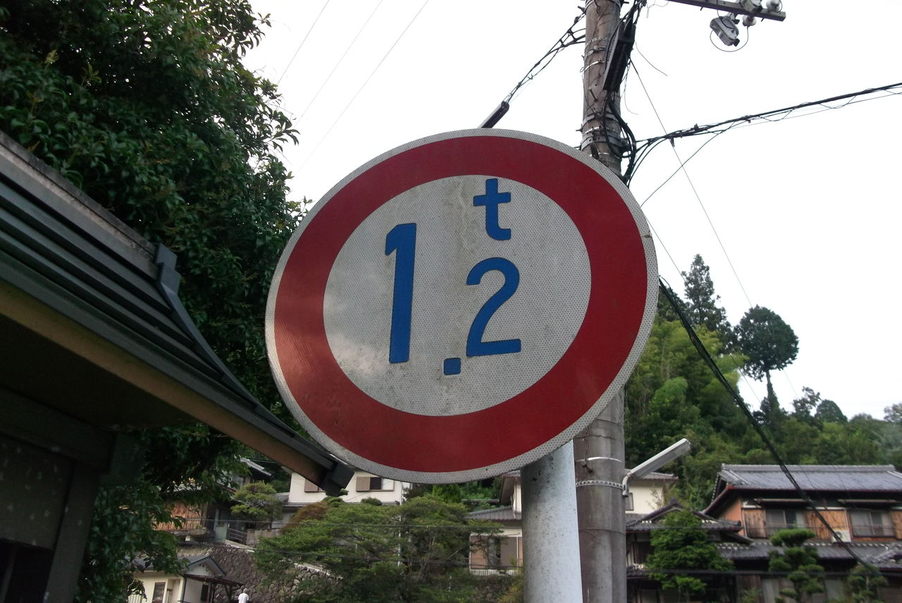 重量制限規制標識 1.2トン