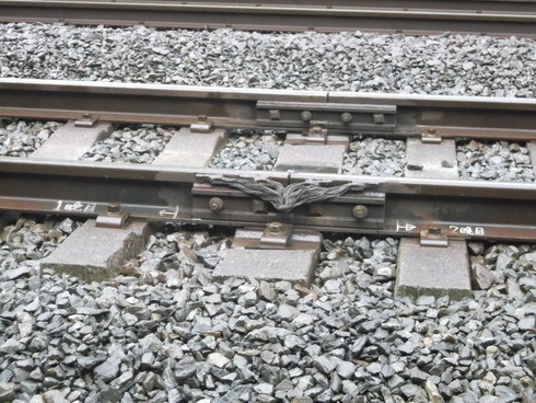 線路の継ぎ目