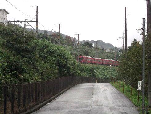 旧橋谷信号所付近