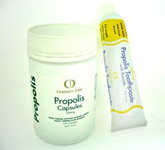 人気商品!プロポリスカプセル+プロポリス歯磨き粉セット