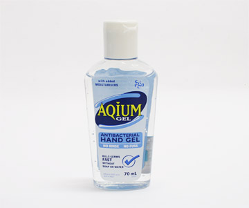 AQIUM 殺菌ジェル