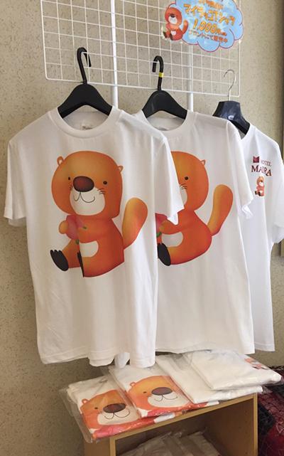 オリジナルTシャツ販売中