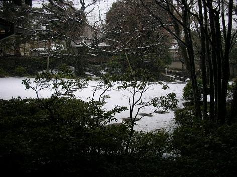品川歴史館の庭園20140214