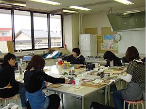 石村先生教室風景