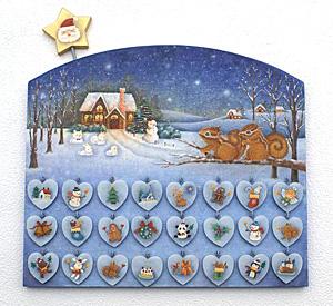 石村先生「クリスマスアドベントカレンダー」