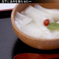 かなりピンボケ 杏仁豆腐フォーカスロック