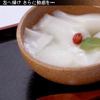 かなりピンボケ 杏仁豆腐