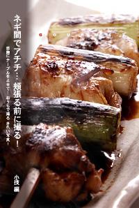 かなりピンボケ 串焼きの紹介