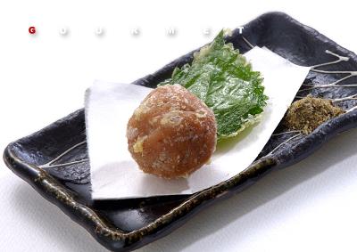 梅干しの天ぷら サブイメージa