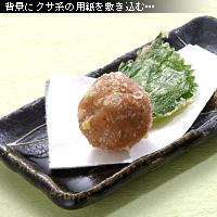 梅干しの天ぷら 作例d
