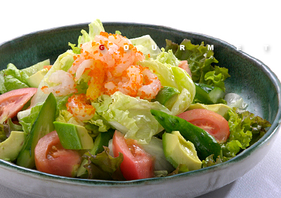 サラダ 簡単な作例a