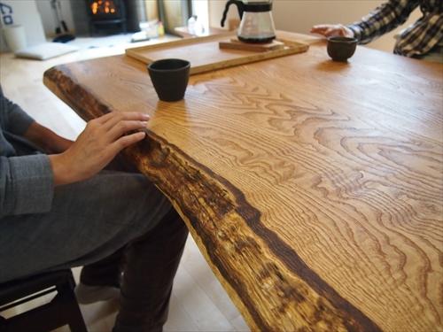 栗ダイニングテーブル