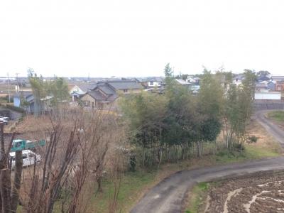 西窓からの風景