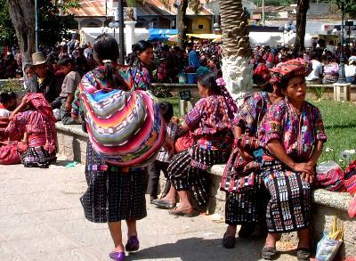 グアテマラは民族衣装の宝庫