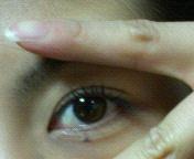 今日の左目